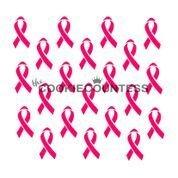 CC Awareness Ribbon Stencil