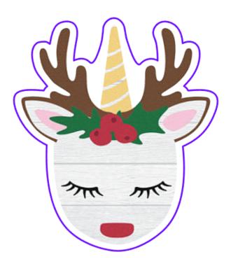 Unicorn Reindeer 02