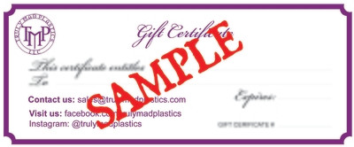 15.00 Gift Certificate