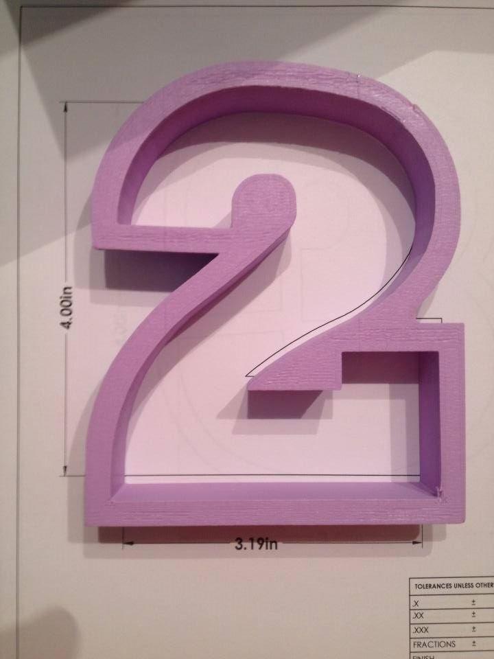 "4"" Block Number 2"