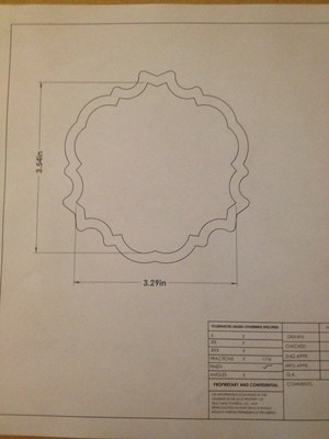 Bed Moulding Plaque 01