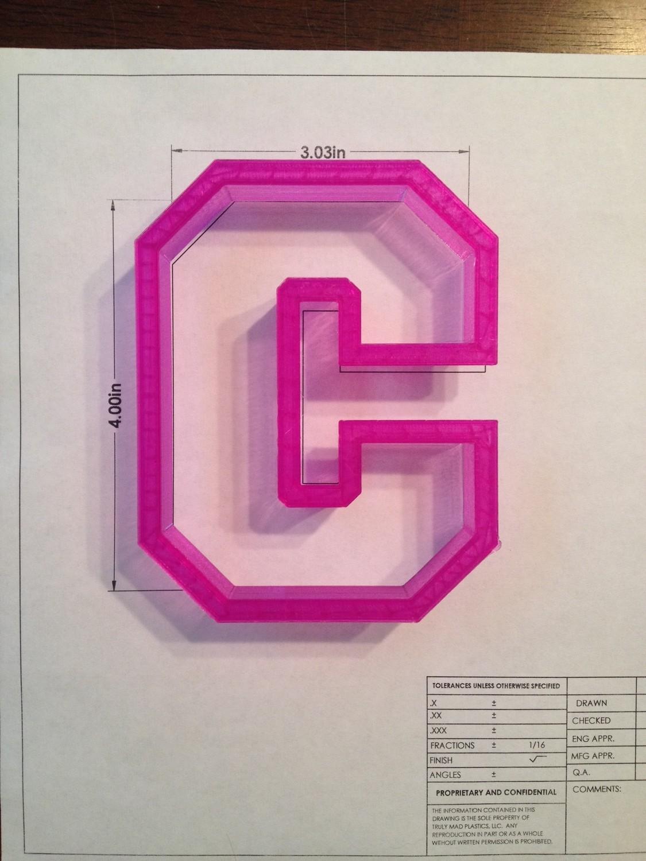 """C Collegiate Style 4"""""""