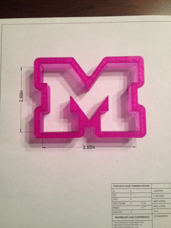 """M - Collegiate Style 2.5"""""""