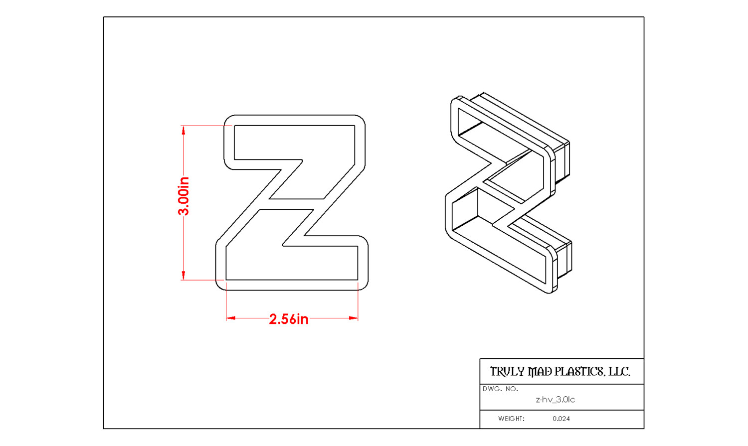 "Helvetica ""z"" lower case 3.0"""