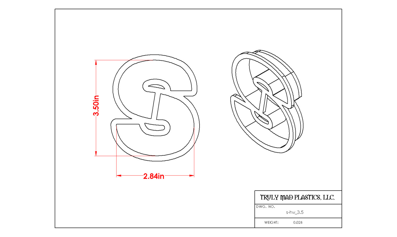 """Helvetica S 3.5"""""""