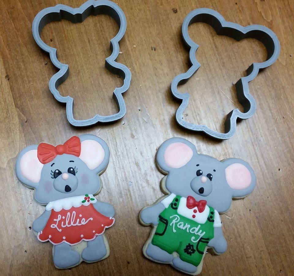 "Mouse Set (Mouse Boy 06 4.25"" & Mouse Girl 06 4.25"")"