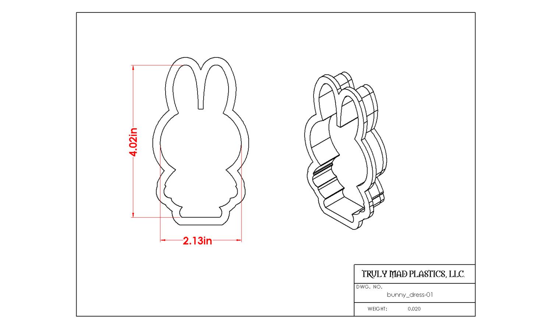 Bunny in Dress