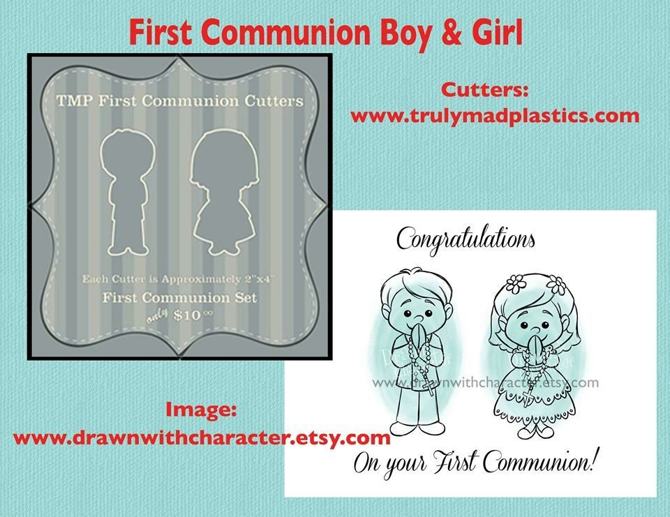 1st Communion Set (1st Boy 01 and 1st Girl 01)