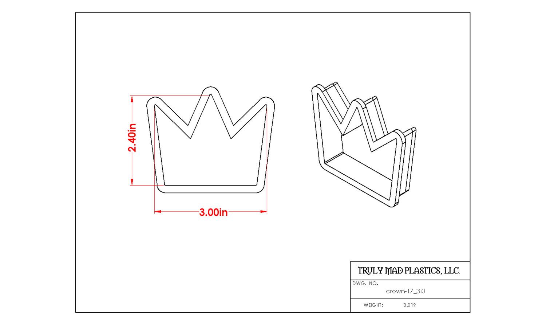 """Crown 17 (3.0"""")"""
