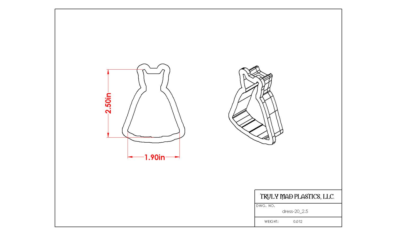 """Dress 20 (2.5"""")"""