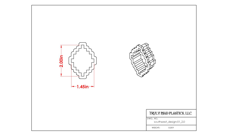 "Southwest Design 01 (2.0"")"