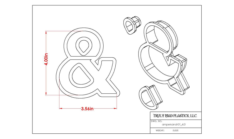 "Ampersand 01 (4.0"")"