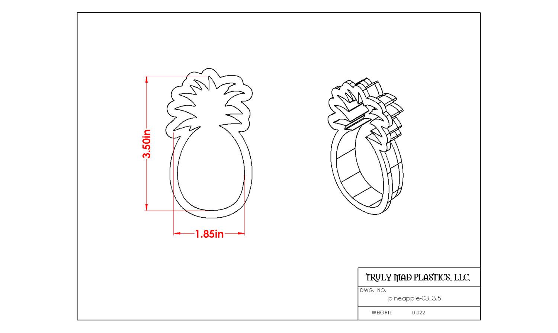 "Pineapple 03 (3.5"")"