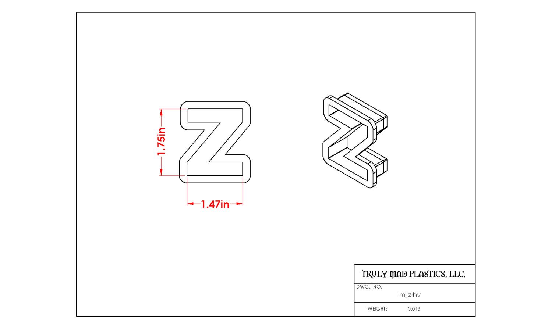 Mini Z Helvetica
