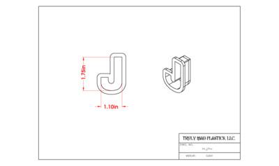 Mini J Helvetica