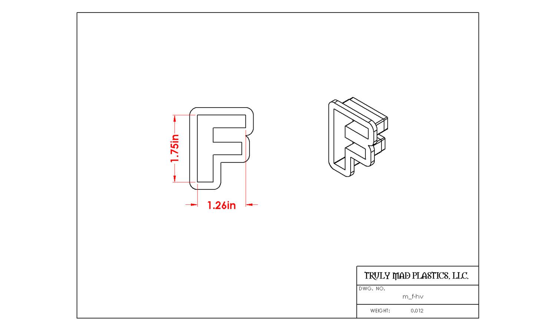 Mini F Helvetica