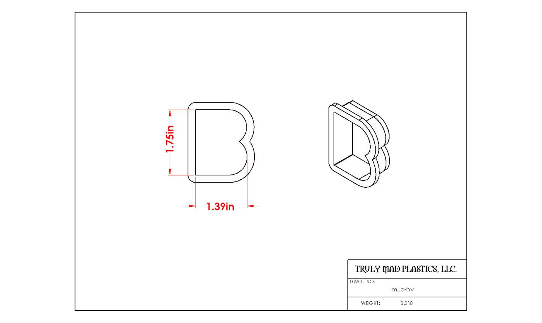 Mini B Helvetica