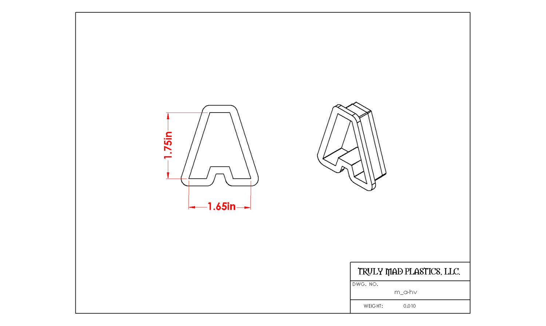 Mini A Helvetica