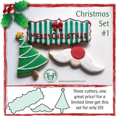 Christmas Set 1 (Plaque 44, Santa Nose 01, Tree 02)