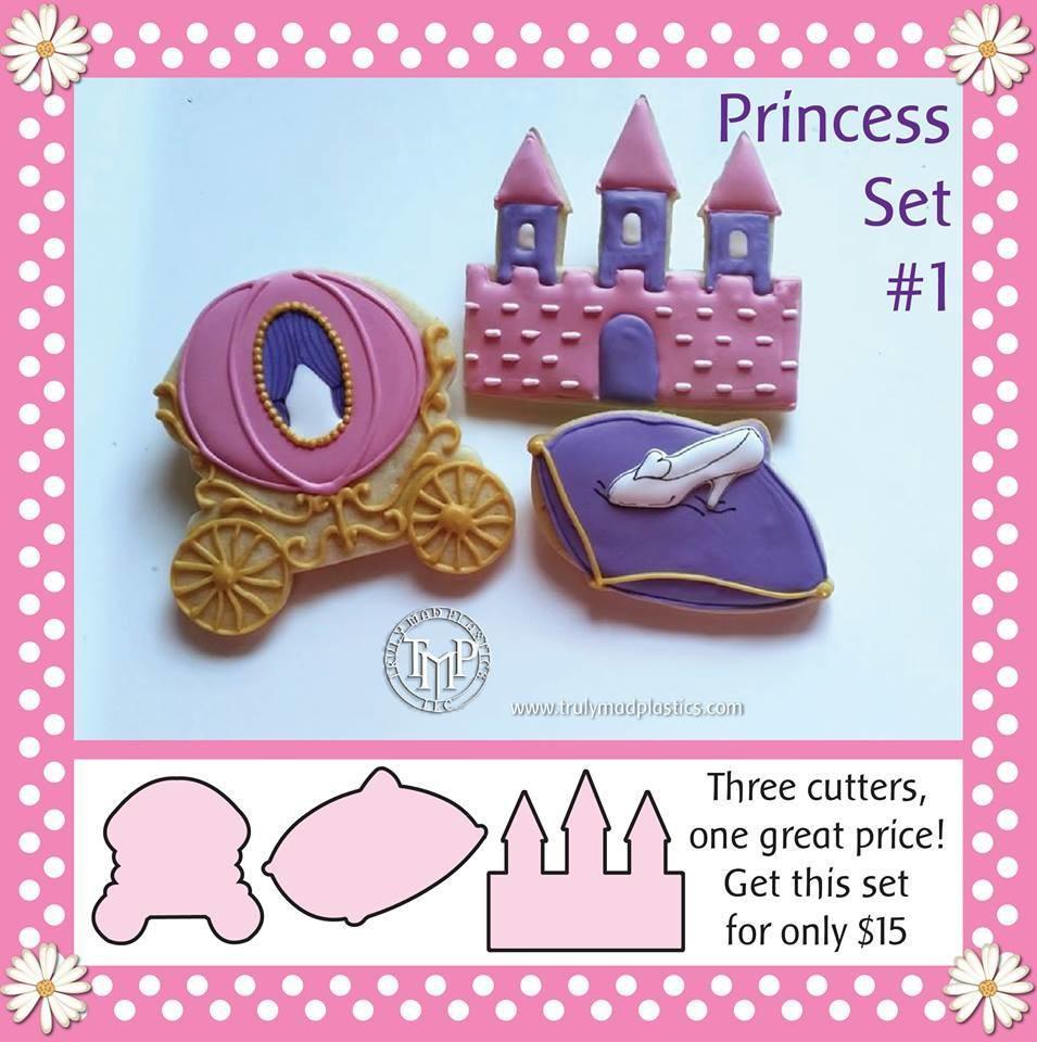 Princess Set 01 (Carriage 01, Pillow 01, Castle 04)