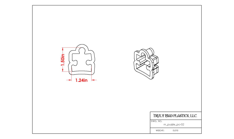 Mini Puzzle Piece 02