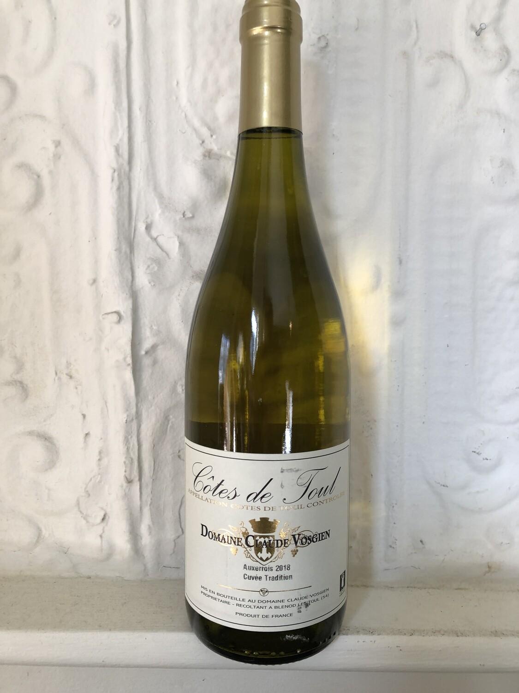 Côtes de Toul Auxerrois Blanc Tradition, Domaine Claude Vosgien 2018 (Lorraine)