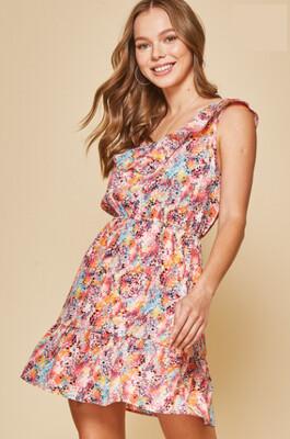 Blissful Breeze Dress- PLUS