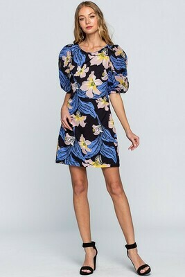 Floral Whispers Dress
