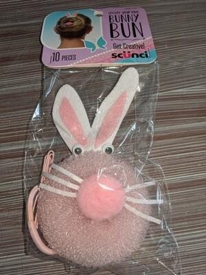 Scrunci bunny bun