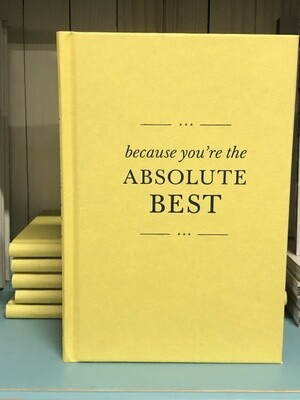 Because You're the Best