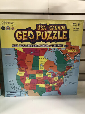 GEO Puzzle USA/Can