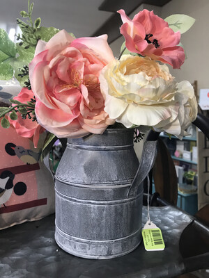 Flowers Milk Jug