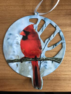Cardinal Laser Cut Ornament