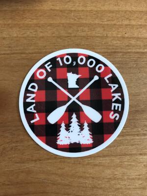 10K Lakes Sticker