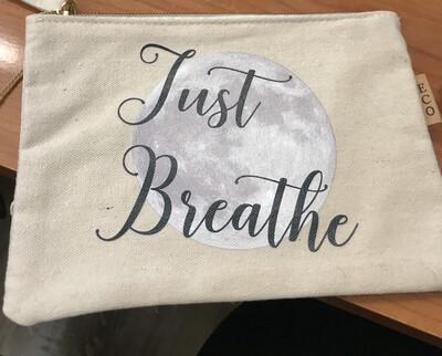 Just Breathe Zipper