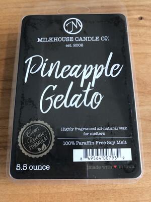 Pineapple Gelato Melts