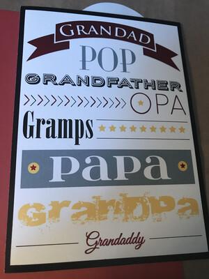 Grandpa Mixed Fonts