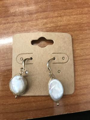 Oval Pearl Drops