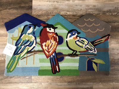 Colorful Birds Rug