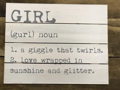 Girl Grey LG