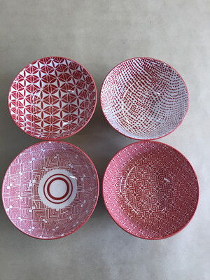 Red Bowls