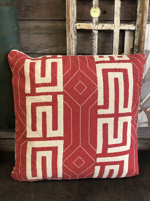 Sq Pillow RED