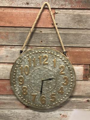 Iron Rope Wall Clock