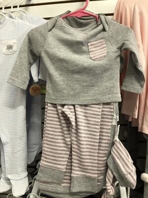 Grey & Pink Set