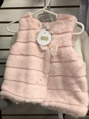 9-12M Fur Vest