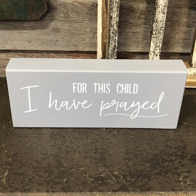 For This Child