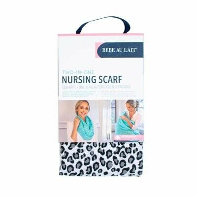 Leopard Nursing Scarf