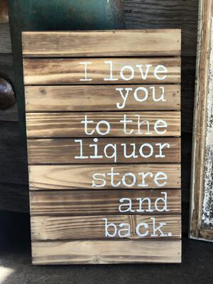 Liquor Store & Back
