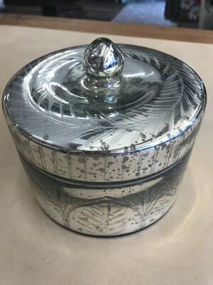 Round Mercury Glass