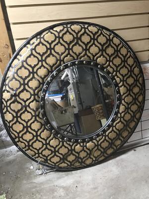Lg Circle Mirror